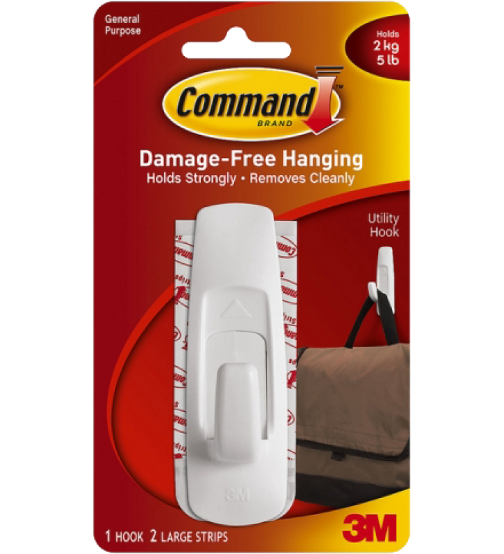 3M Command™ Large Utility Hook 17003HK