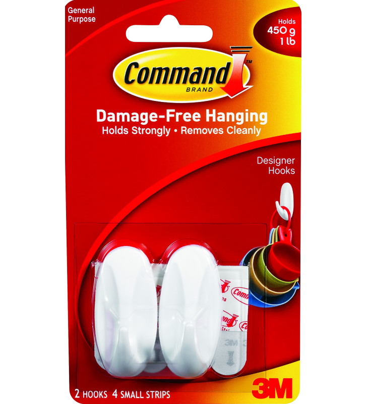 3M Command™ Small Designer Hooks 17082HK