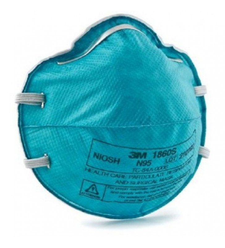 3M™ 1860S N95 Health Care Particulate Respirator and Surgical Mask Small (20pcs/box)