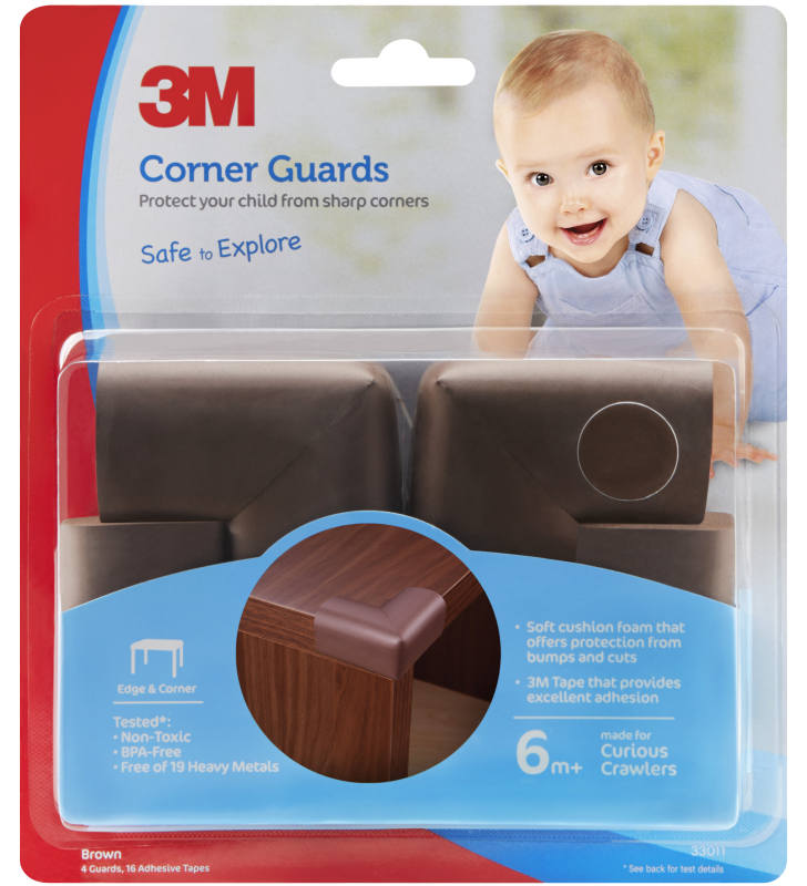 3M™ Corner Guards (Brown)