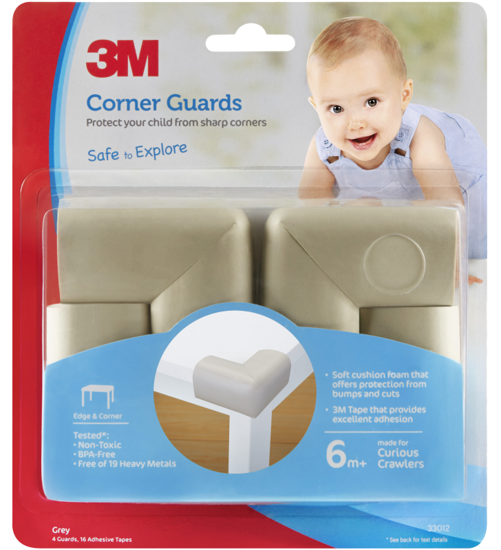 3M™ Corner Guards (Grey)