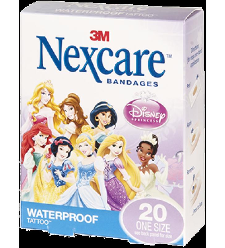 3M Nexcare™ Disney Princess Waterproof Bandages (20pcs/box)