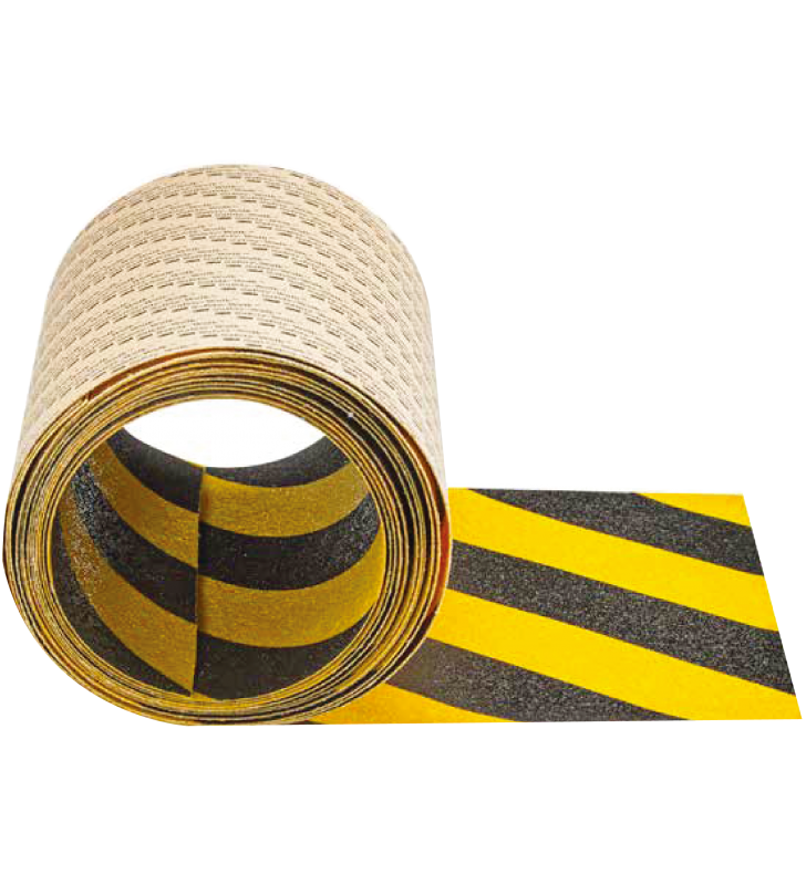"3M™ Safety-Walk™ Slip-Resistant General Purpose Tapes and Treads 613 (Black/Yellow) 2"" x 60'"