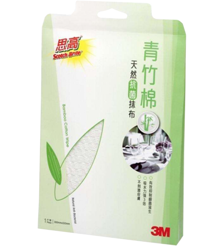 3M Scotch-Brite Bamboo Wipe(1pc)