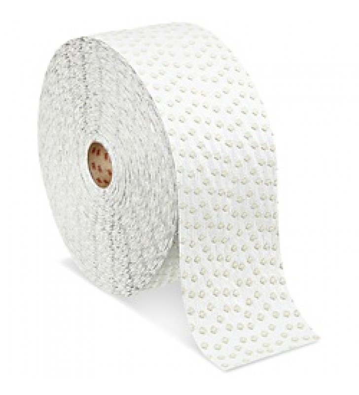 "3M™ Stamark™ Wet Reflective Removable Tape Series 710 White 4"" x 40yds"