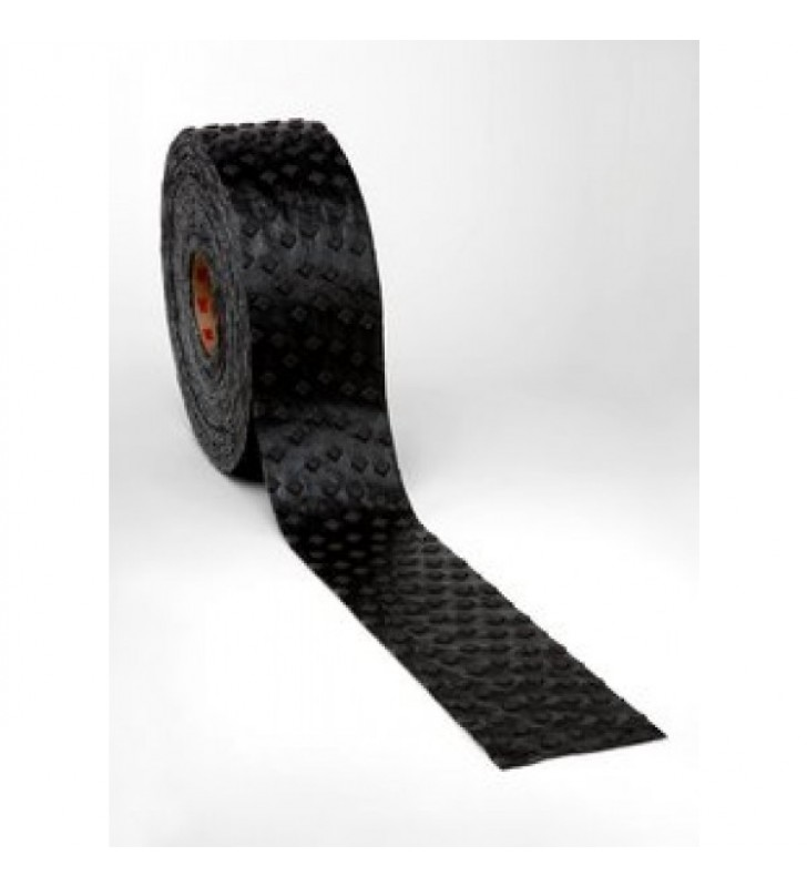 "3M™ Stamark™ Wet Reflective Removable Tape Series 715 Black 4"" x 40yds"