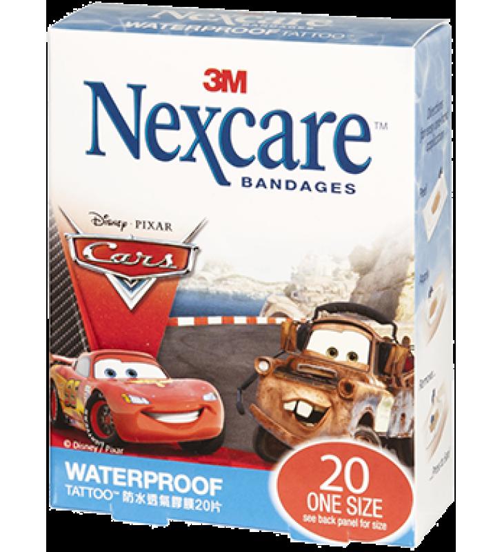 3M Nexcare™ Cars Waterproof Bandages (20pcs/box)