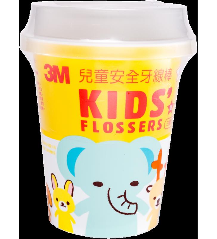 3M™ Kids' Flosser(55pcs) Cup