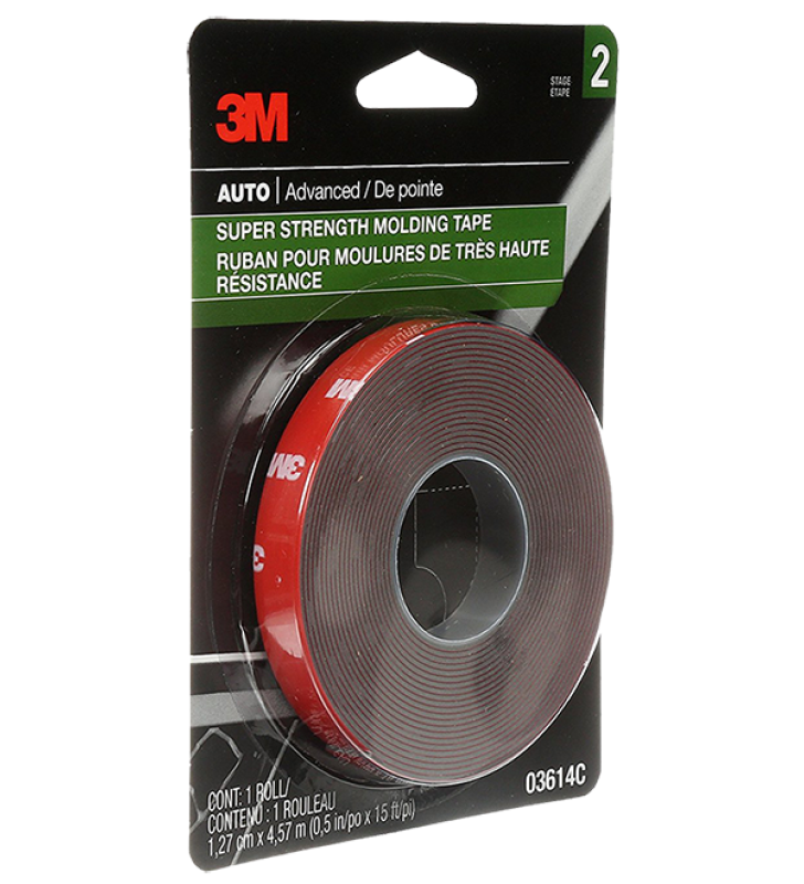 3M PN3614 Molding Tape 1/2 IN x 15 FT