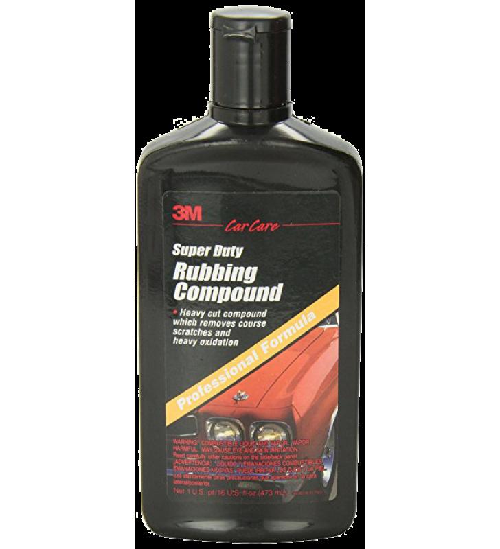 3M PN39004 Super Duty Rubbing Compound - 16oz