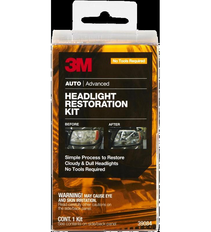 3M PN39084 Headlight Restoration Kit