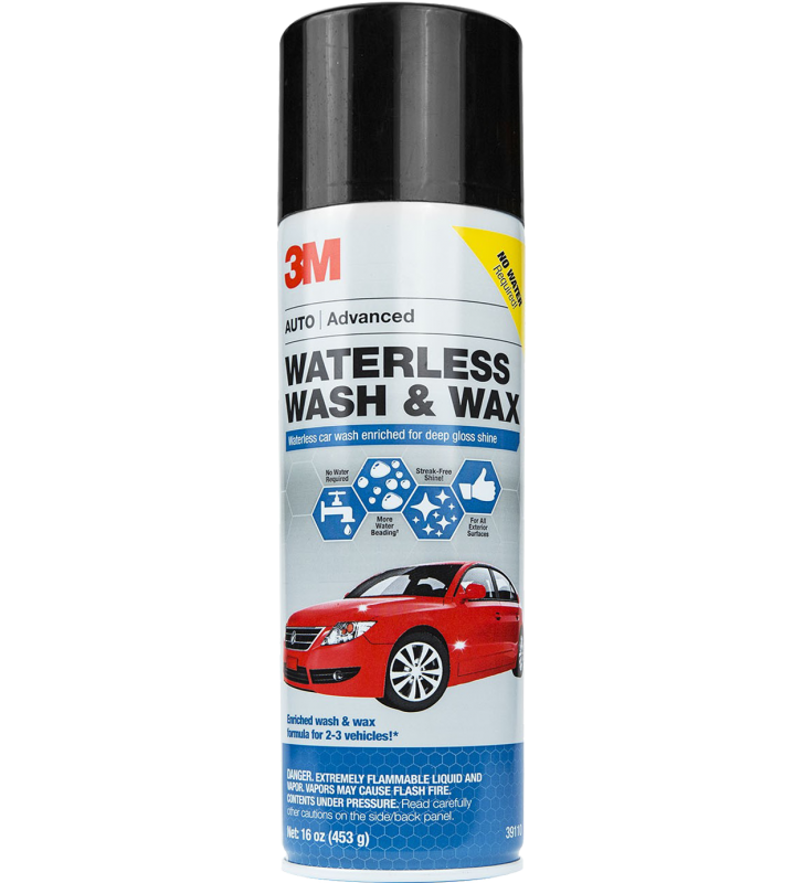 3M PN39110 Waterless Wash & Wax - 16oz