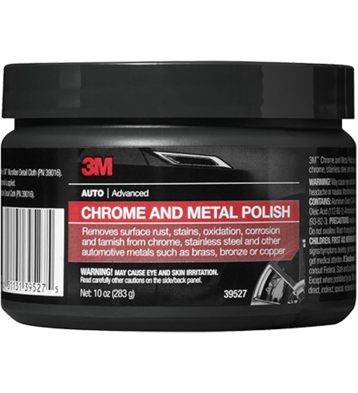 3M PN39527 Chrome and Metal Polish 10oz
