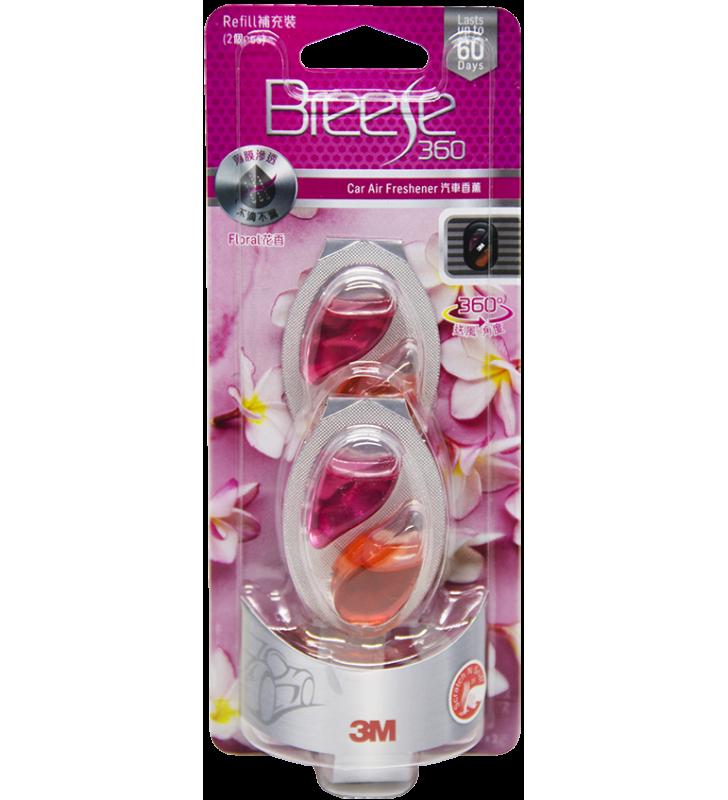 3M PN88013 Car Air Freshener Refill- Floral