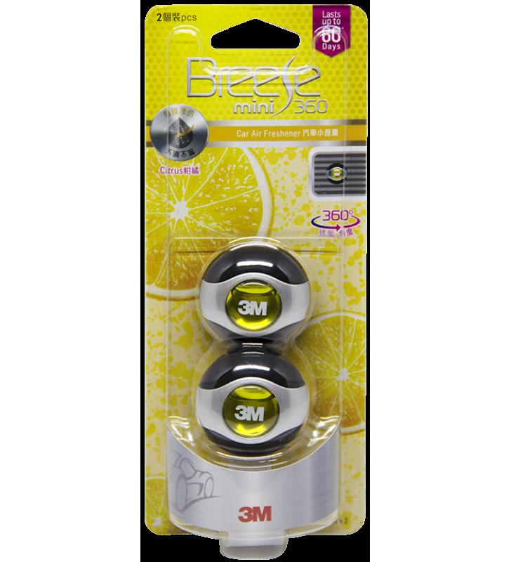 3M PN99013 Car Air Freshener Mini - Citrus