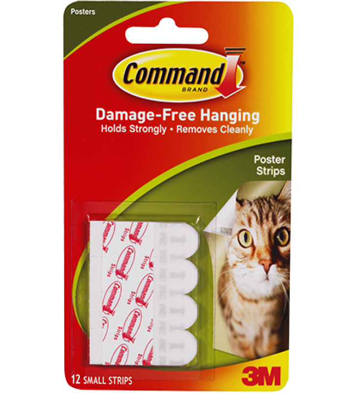 3M Command™ Poster Strips 17024HK