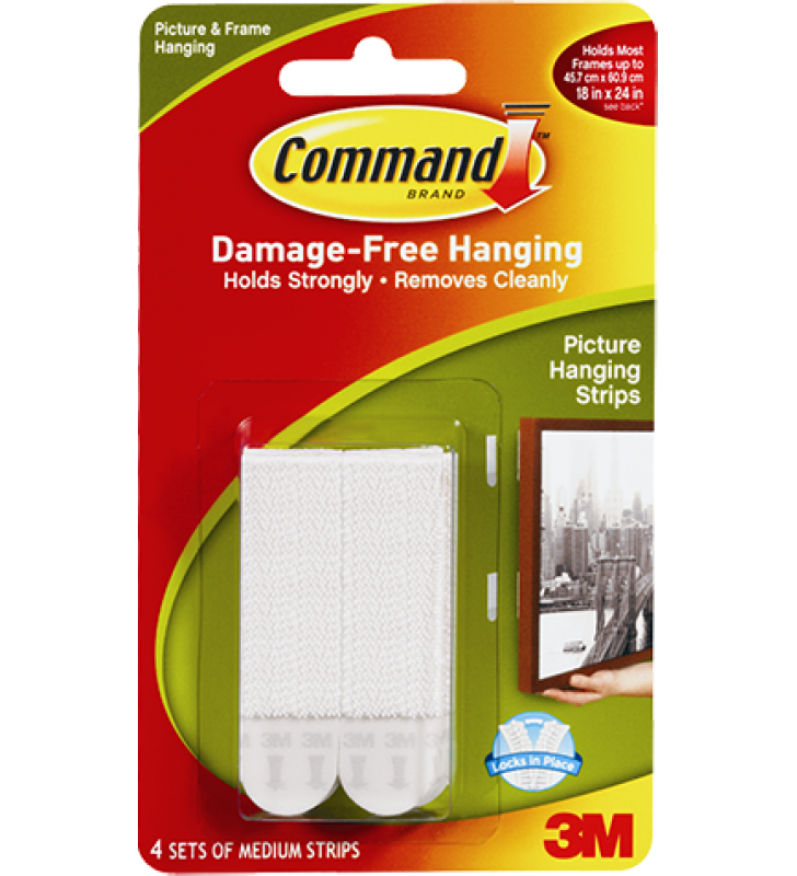 3M Command™ Medium Picture Hanging Strips 17201