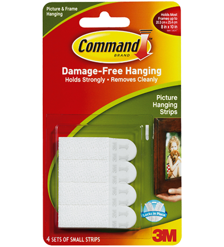 3M Command™ Small Picture Hanging Strips 17202