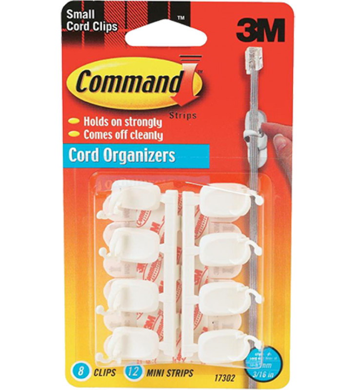 3M Command™ Small Cord Clips 17302