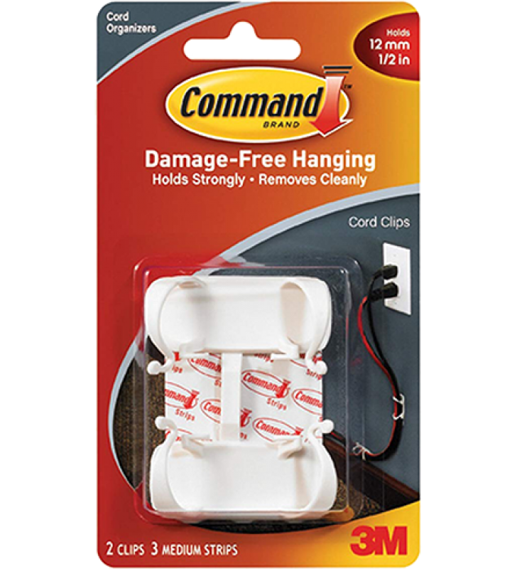 3M Command™ Large Cord Clips 17303