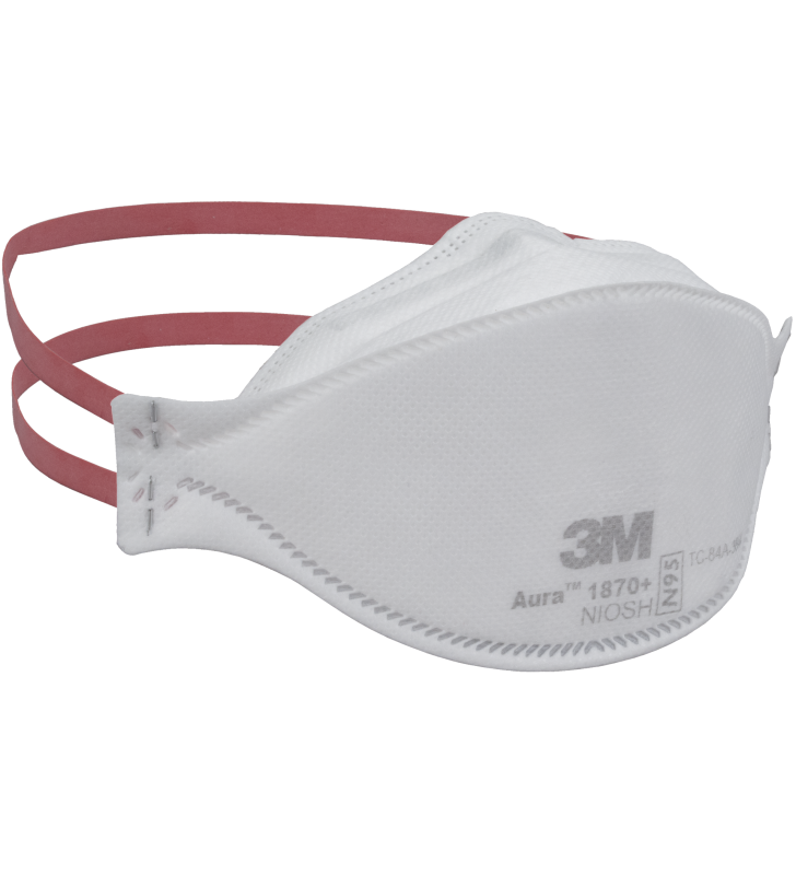 3M 1870+ N95 Aura™ Health Care Particulate Respirator and Surgical Mask (20pcs/box)