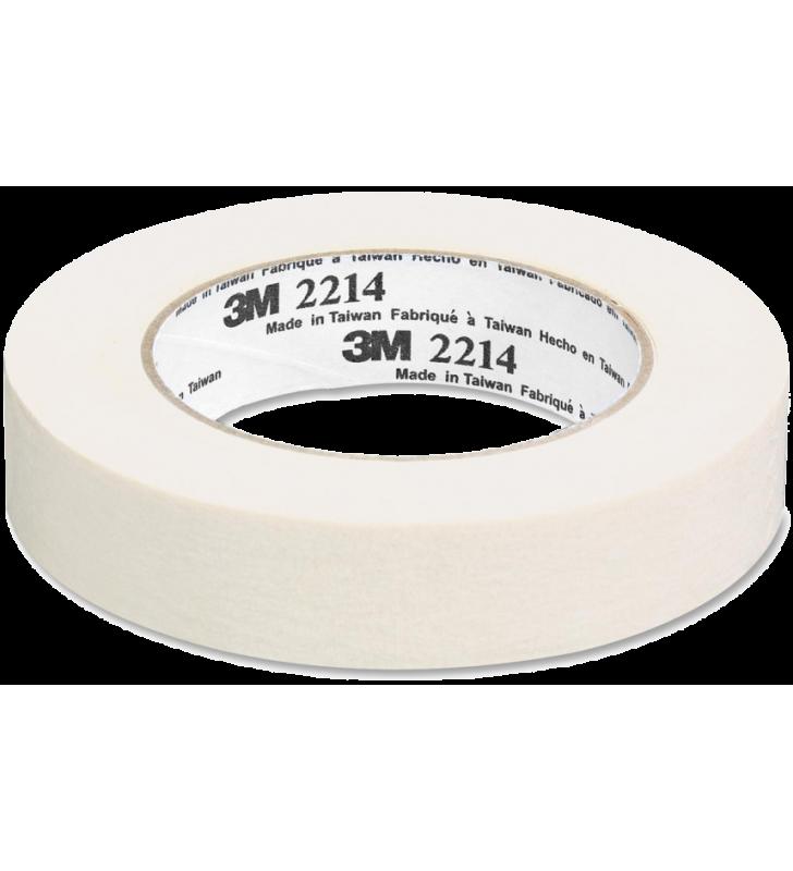 """3M™ Paper Masking Tape 2214 1""""(24mm) X 25M (12Rolls)"""