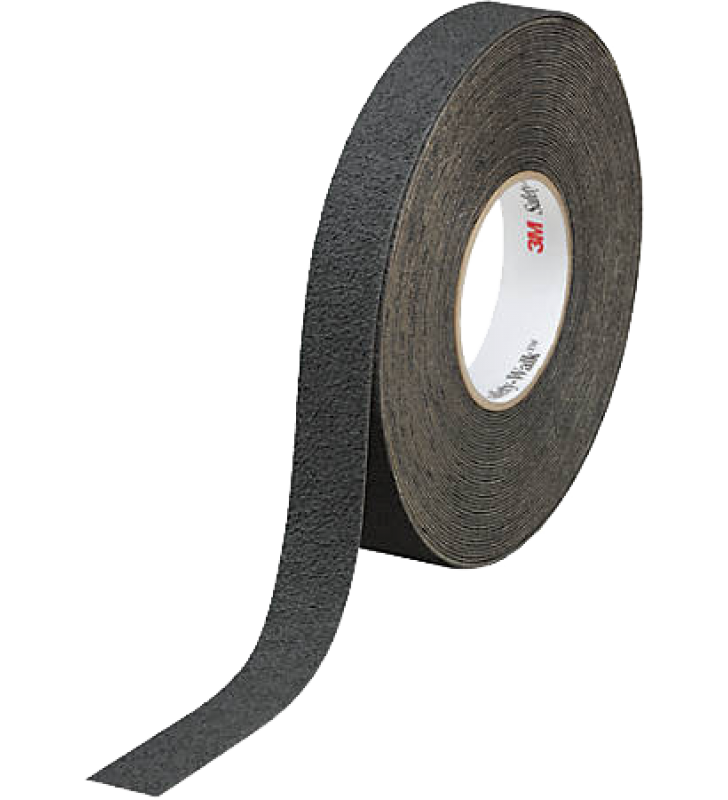 "3M™ Safety-Walk™ Slip-Resistant Medium Resilient Tapes and Treads 310 (Black) 1"" x 60'"