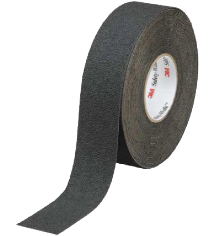 "3M™ Safety-Walk™ Slip-Resistant Medium Resilient Tapes and Treads 310 (Black) 2"" x 60'"