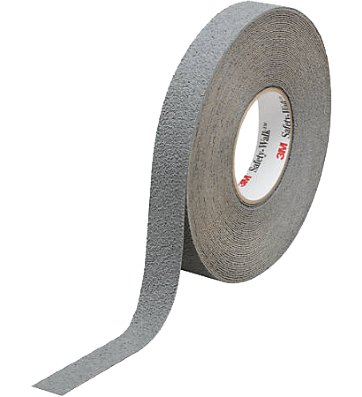 "3M™ Safety-Walk™ Slip-Resistant Medium Resilient Tapes and Treads 370 (Gray) 1"" x 60'"