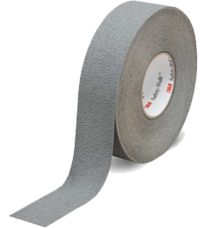 "3M™ Safety-Walk™ Slip-Resistant Medium Resilient Tapes and Treads 370 (Gray) 2"" x 60'"