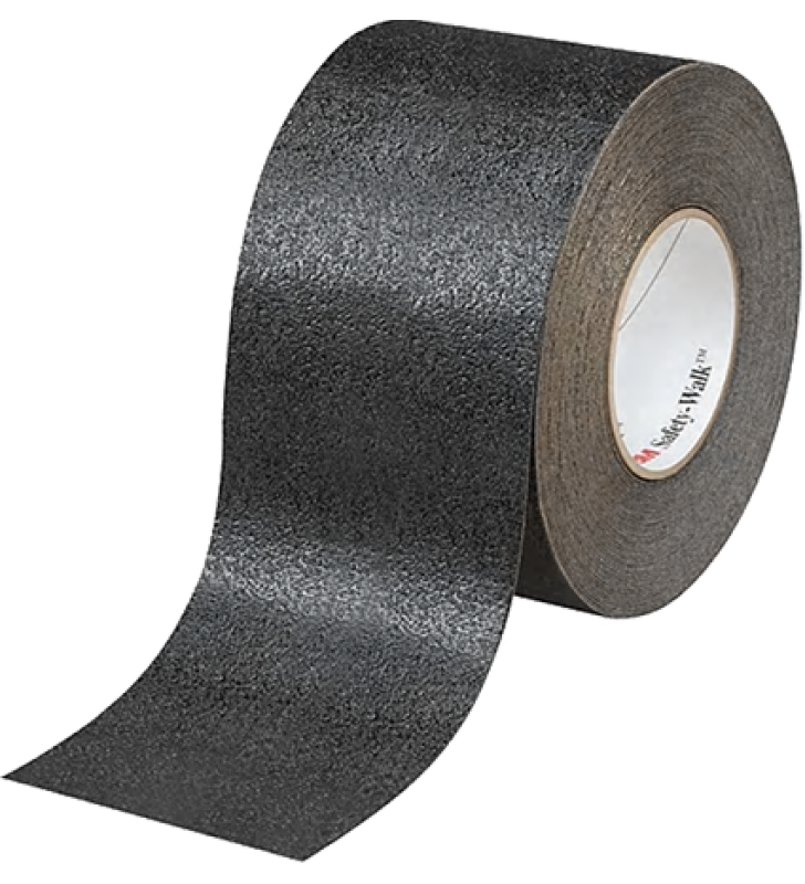 "3M™ Safety-Walk™ Slip-Resistant Conformable Tapes and Treads 510 (Black) 4"" x 60'"