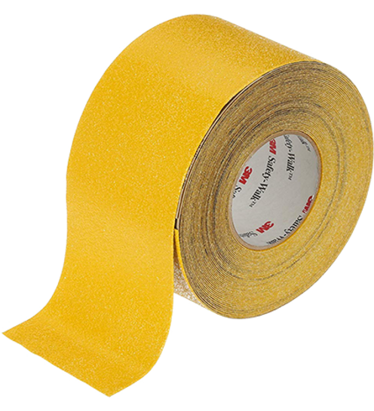 "3M™ Safety-Walk™ Slip-Resistant Conformable Tapes and Treads 530 (Yellow) 4"" x 60'"