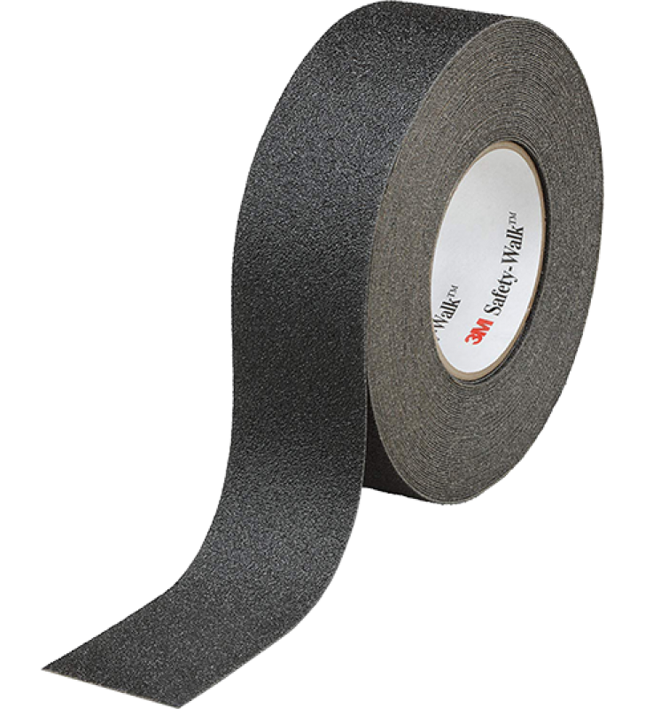 "3M™ Safety-Walk™ Slip-Resistant General Purpose Tapes and Treads 610 (Black) 4"" x 60'"