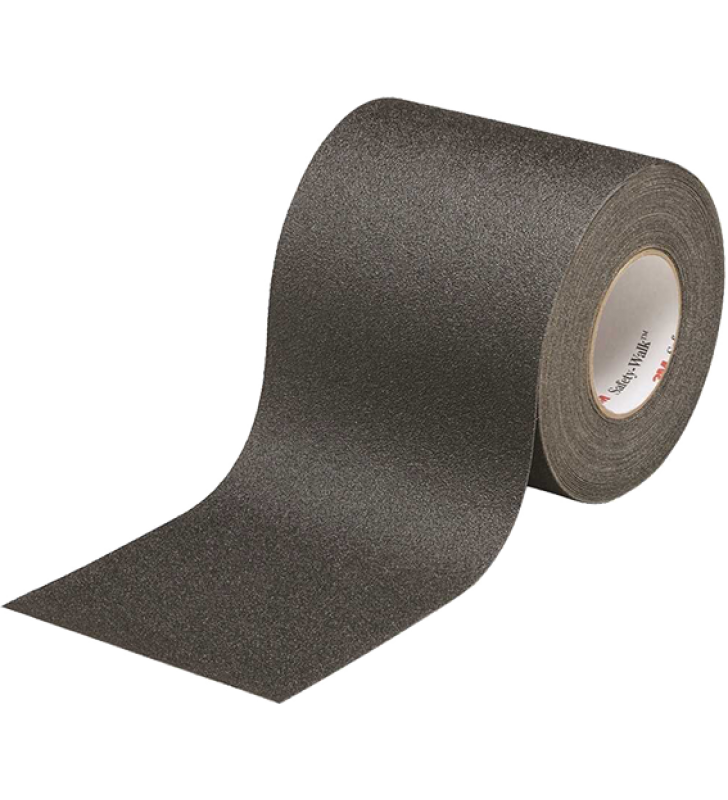 "3M™ Safety-Walk™ Slip-Resistant General Purpose Tapes and Treads 610 (Black) 6"" x 60'"