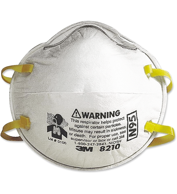 *8 Boxes for each person Only - 3M™ 8210 N95 Particulate Respirator (20pcs/box)