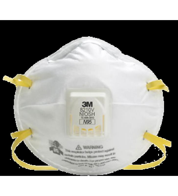 3M 8210V N95 Particulate Respirator (10pcs/box)