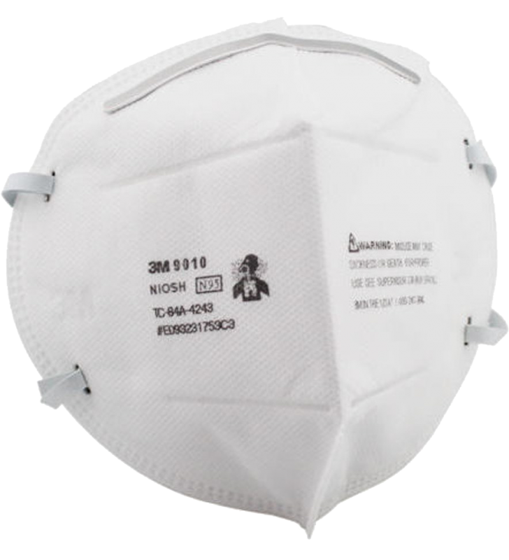 *5 Boxes for each person Only - 3M 9010 N95 Disposable Particulate Respirator Face Mask, Individually Wrapped (50pcs/box)