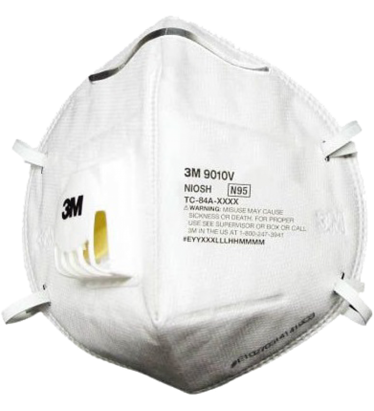 *5 Boxes for each person Only - 3M 9010V N95 Disposable Particulate Respirator with Valve (20pcs/box)