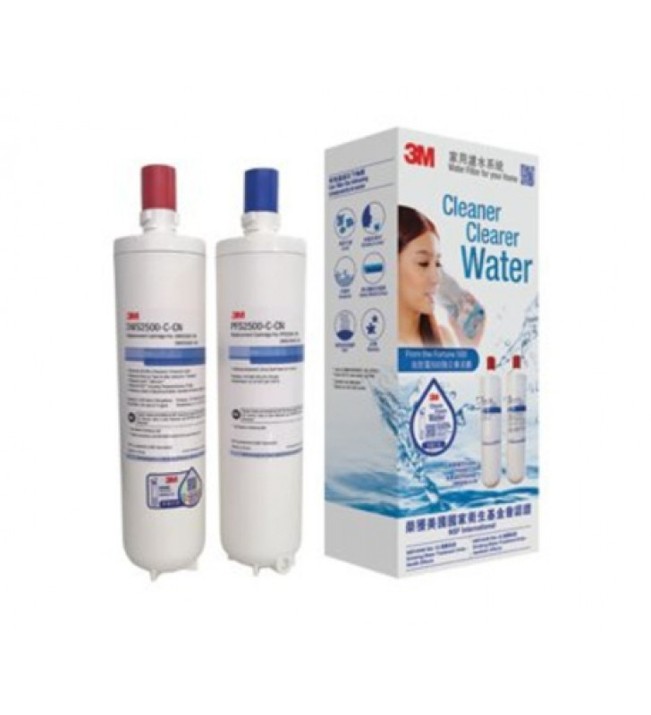 3M™ Drinking Water System Water Filter (Cartridges Replace Set) DWS2500T-C
