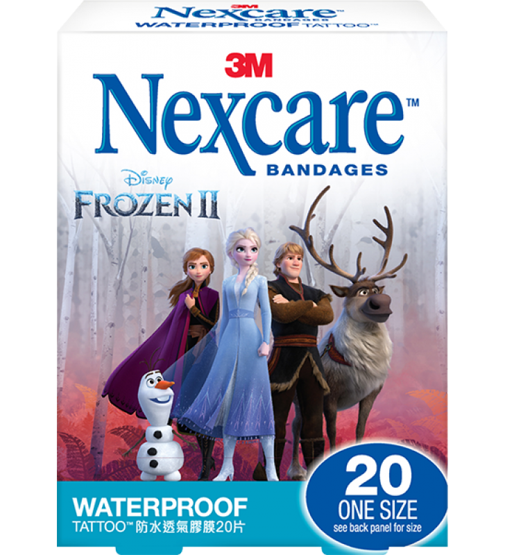 3M Nexcare™ Frozen 2 Waterproof Bandages (20pcs/box)