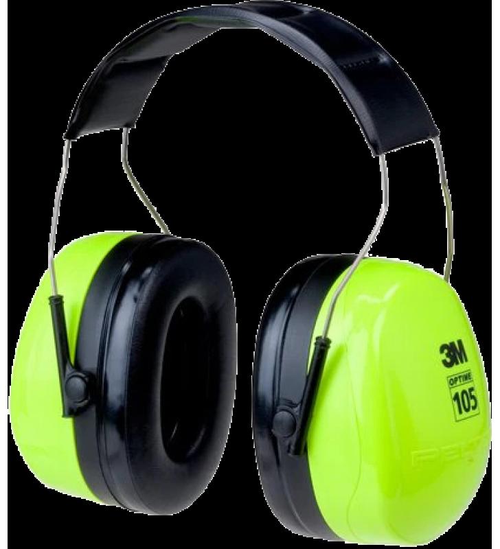 3M™ PELTOR™ Optime™ 105 Earmuffs H10A, Over-the-Head