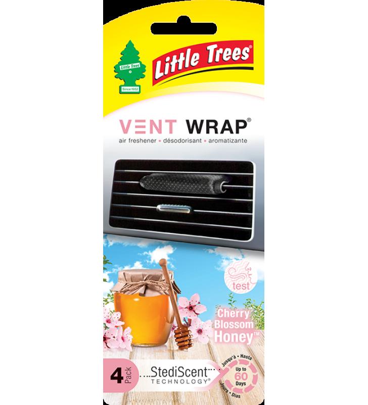 Little Trees Vent Wrap - Cherry Blossom Honey