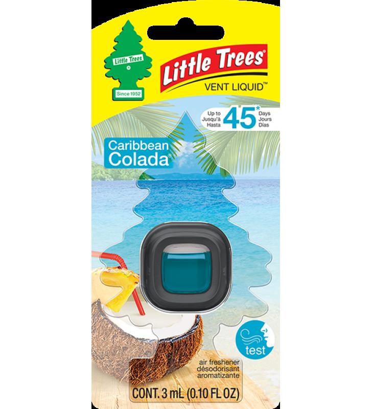 Little Trees Vent Liquid - Caribbean Colada