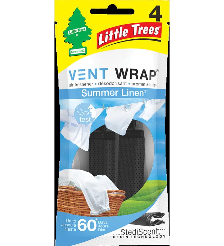 Little Trees Vent Wrap - Summer Linen