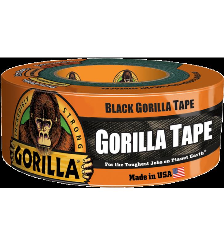 Gorilla Tape - Black (1.88in x 12yds)