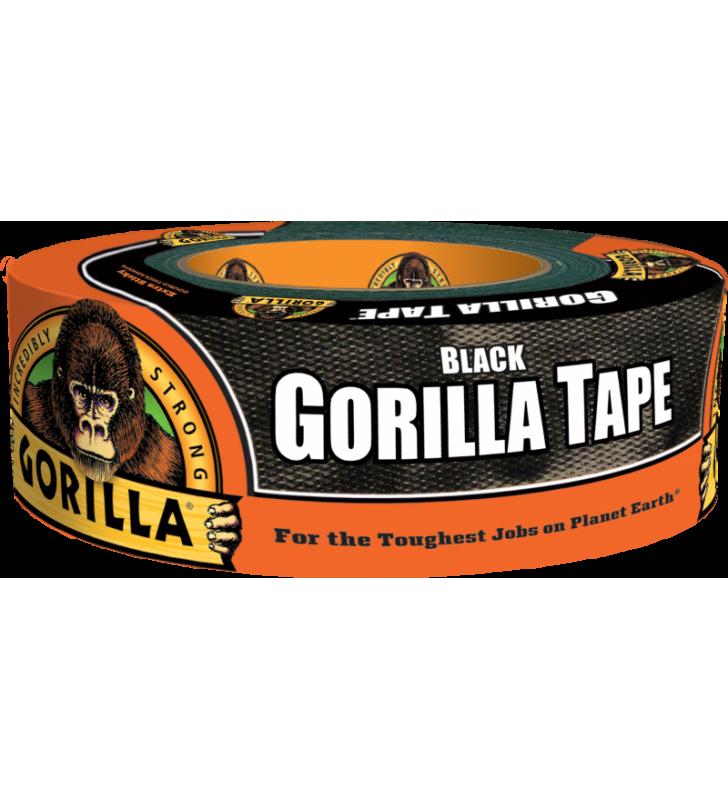 Gorilla Tape - Black (1.88in x 35yds)