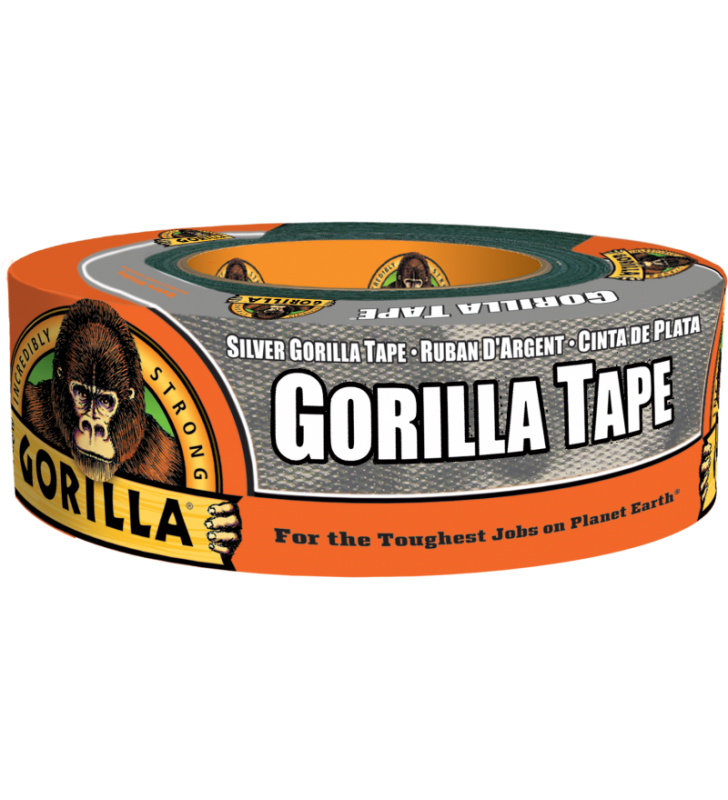 Gorilla Tape - Silver (1.88in x 35yds)