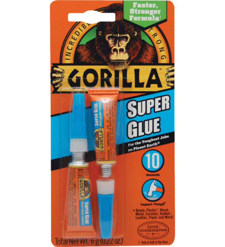 Gorilla Super Glue - 3g (2 tube)