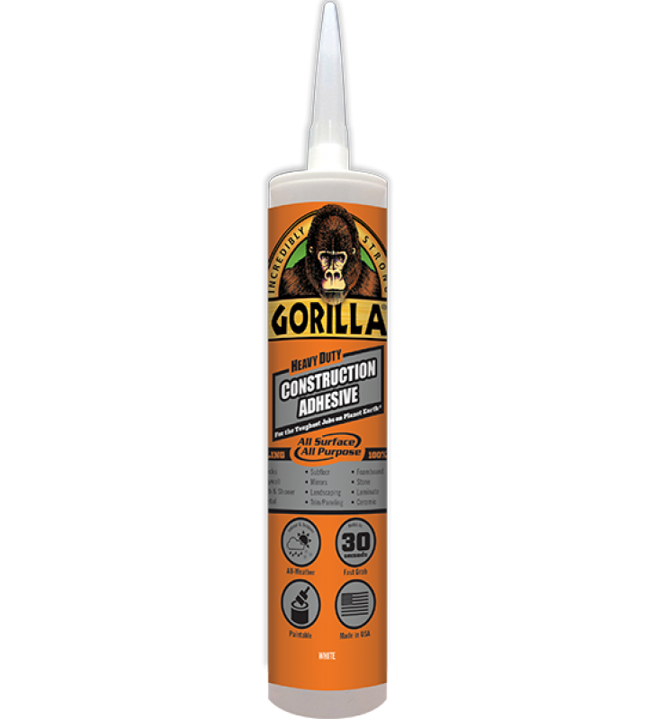 Gorilla Heavy Duty Construction Adhesive - 9oz