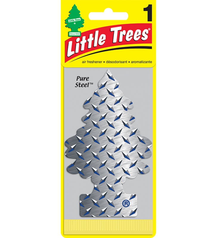 Little Trees - Pure Steel (1 pack)